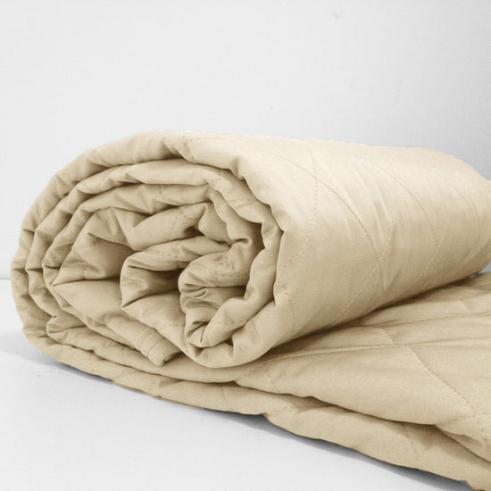 100% Bamboo Quilts - Latte