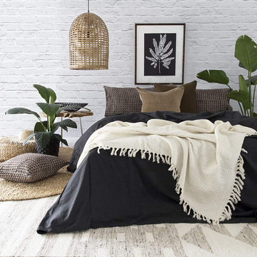 Bamboo Charcoal Doona Cover Set