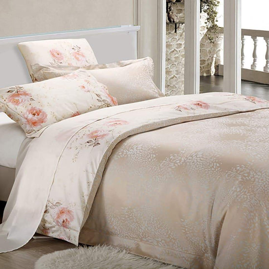 Cotton Quilt Cover Set - Fleur