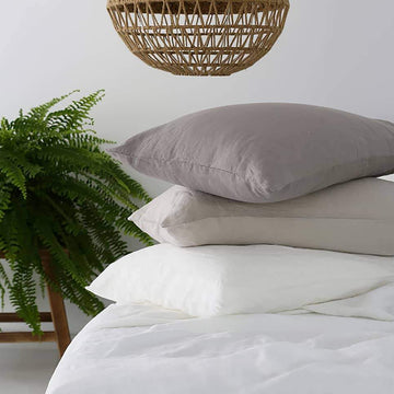 100% Linen Pillowcase Set - All Colours
