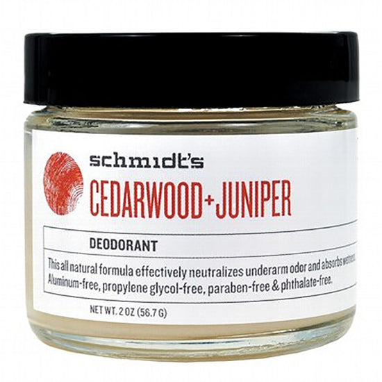 Schmidt's Natural Cedarwood & Juniper Deodorant Jar - 56g