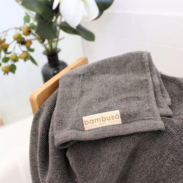 Bamboo Charcoal Hand Towel