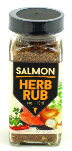 Salmon Herb Rub