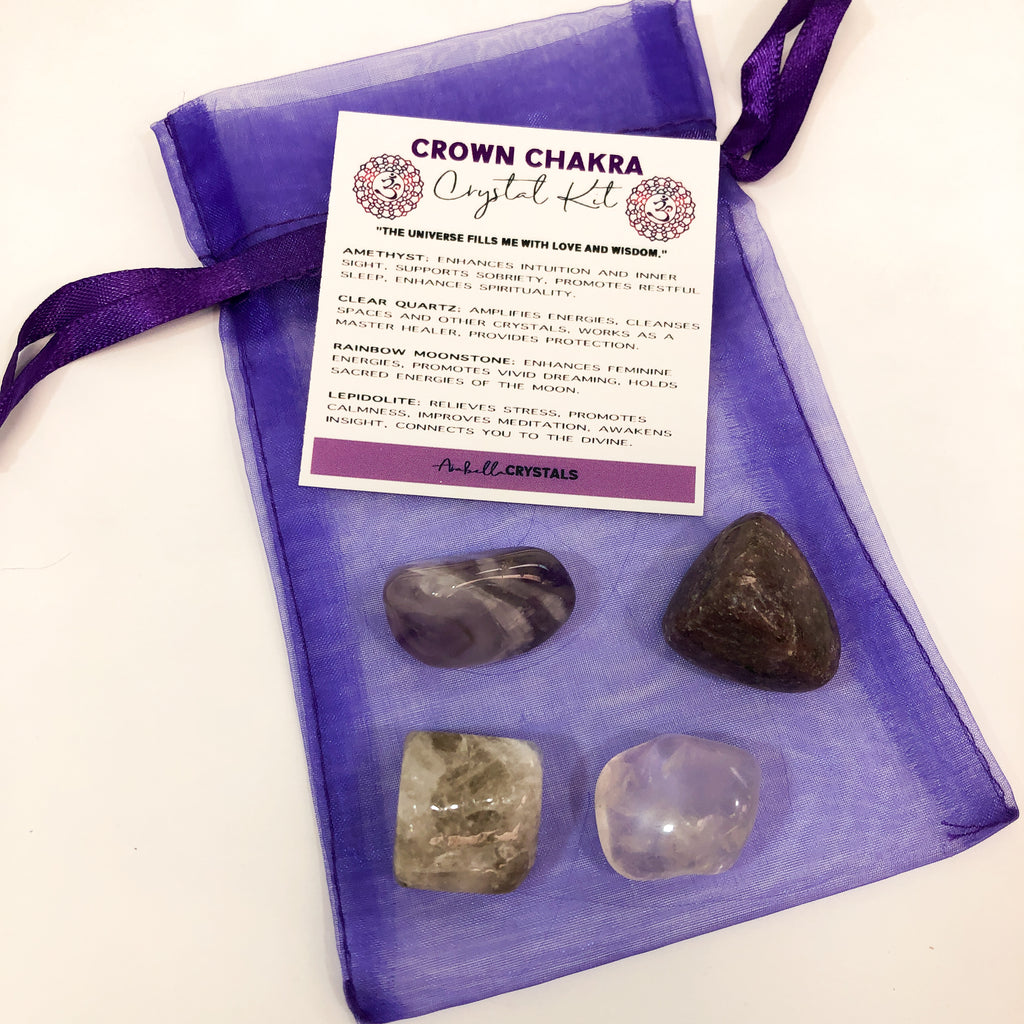 Crown Chakra Crystal Kit