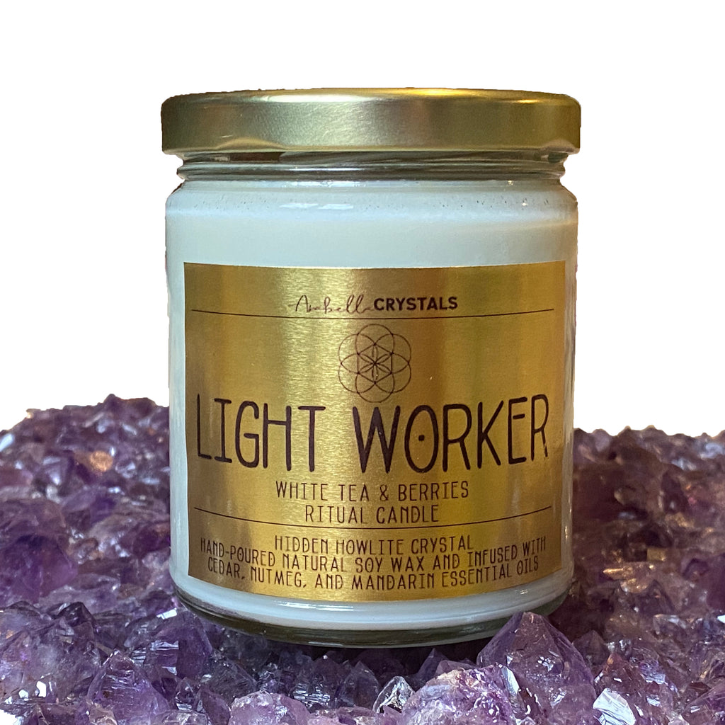 LIGHT WORKER Jar Candle