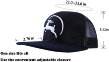 Load image into Gallery viewer, Jungle Deer Plain Baseball Cap -- Graphite Black - Less+mORE