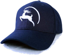 Load image into Gallery viewer, Jungle Deer Plain Baseball Cap -- Collegiate Navy - Less+mORE