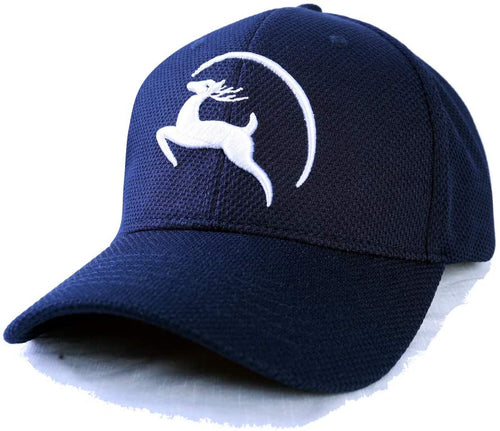 Jungle Deer Plain Baseball Cap -- Collegiate Navy - Less+mORE