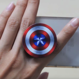 Captain American Phone Stand - Less+mORE