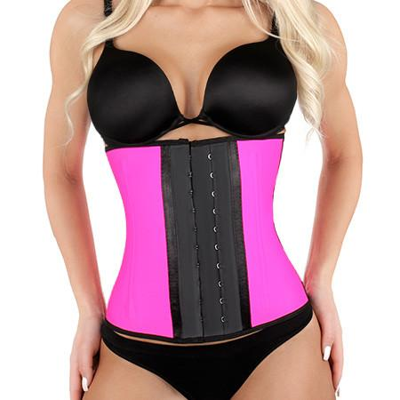 Kardashian's Favorite Shaped Latex Waist Trainer - Pink - Less+mORE