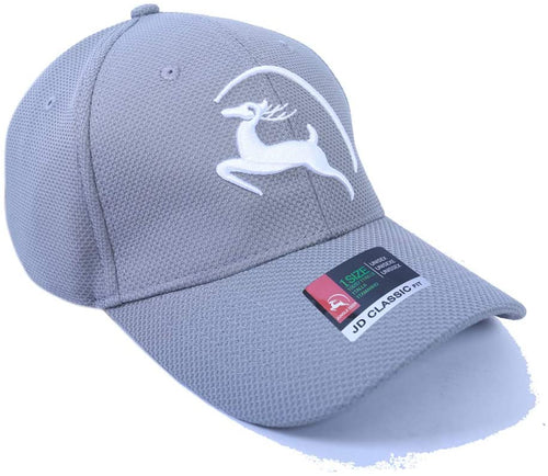 Jungle Deer Plain Baseball Cap -- Titanium Grey - Less+mORE