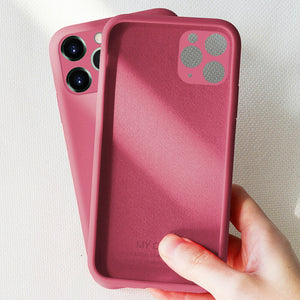 iPhone 11 Pro Max Silicone Case - Amazon Green - Less+mORE