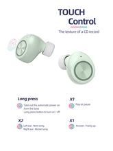 Load image into Gallery viewer, New TWS Bluetooth Earbuds Macaroon Color - White - Less+mORE