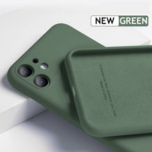 Load image into Gallery viewer, iPhone 11 Pro Max Silicone Case - Amazon Green - Less+mORE