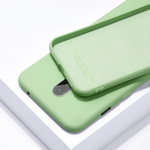 OnePlus Phone Case Liquid Silicone Soft Cover - Less+mORE