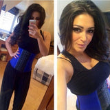 Kim_Kardashians_Favorite_Shaped_Latex_workout_Waist_Trainer_Corset_Purple