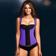 Load image into Gallery viewer, Workout Latex Waist Trainer Vest Back Supporter - Less+mORE