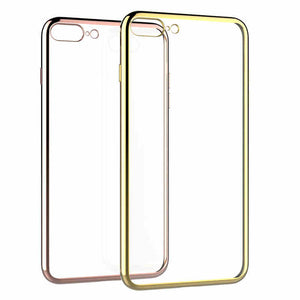 Ultra Thin Clear TPU Rubber Case For iPhone 6 Plus - Less+mORE