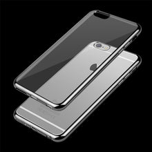 Load image into Gallery viewer, Ultra Thin Clear TPU Rubber Case For iPhone 7/8 - Less+mORE