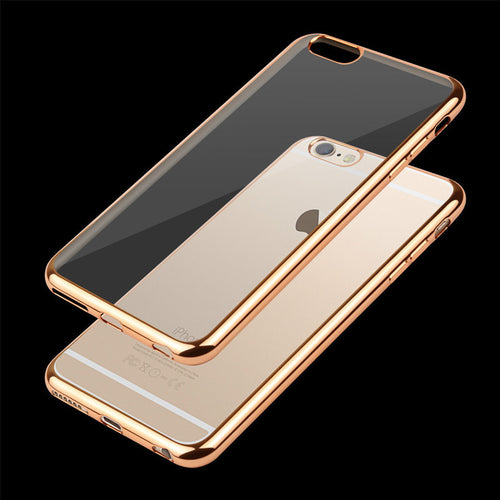 Ultra Thin Clear TPU Rubber Case For iPhone 7/8 - Less+mORE