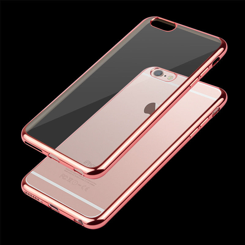 Thin Clear TPU Rubber Case For iPhone 6/6S - Less+mORE