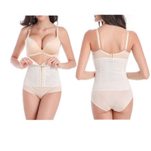 Load image into Gallery viewer, Shapewear Waist Corset 3 Hooks-Nude Color - Less+mORE