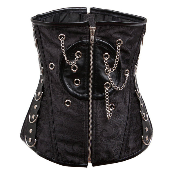 Steampunk Gothic Corset - Less+mORE