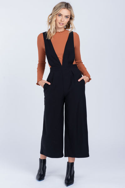 Nights Like This Black Jumpsuit - Wildflowers Boutique