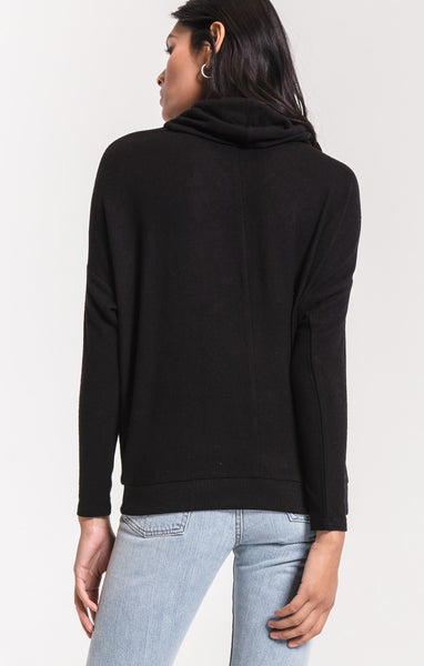 Z Supply Marled Cowl Neck Sweater - Wildflowers Boutique