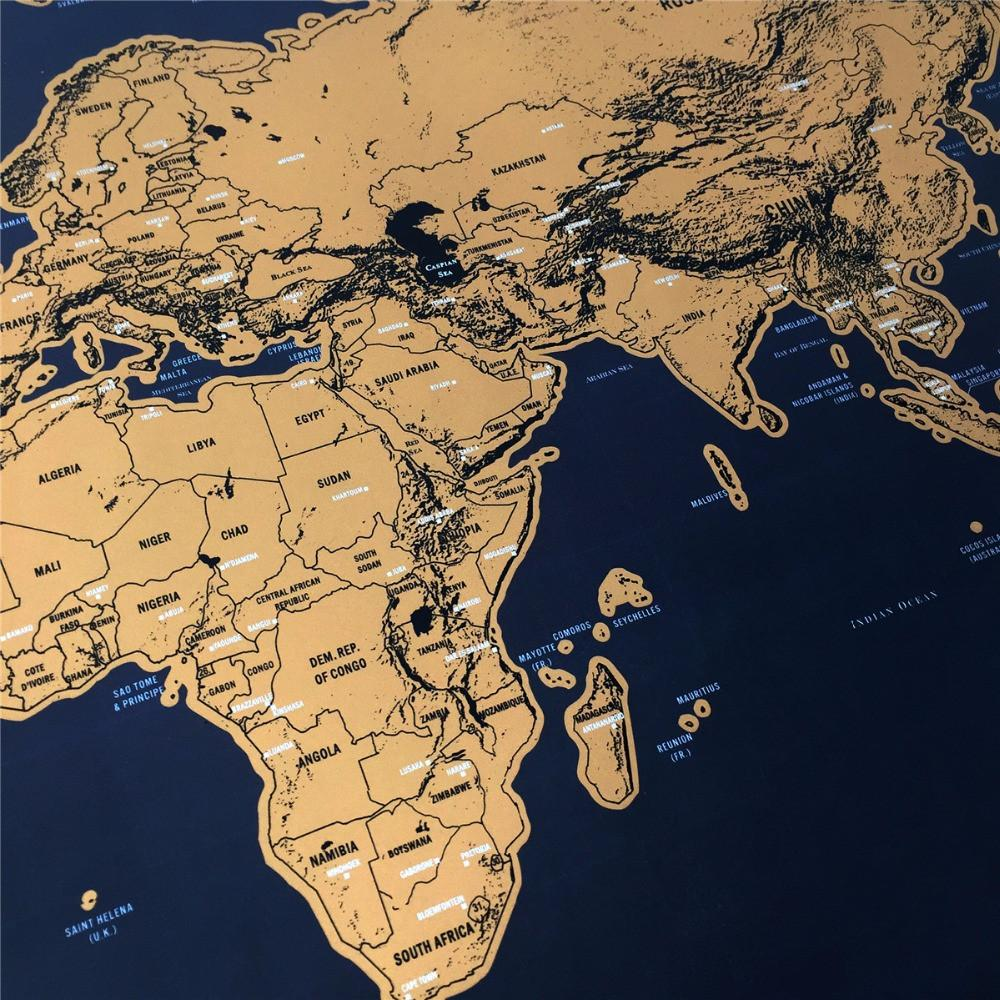 Globetrotter scratch off world map explore and snap globetrotter scratch off world map gumiabroncs Images