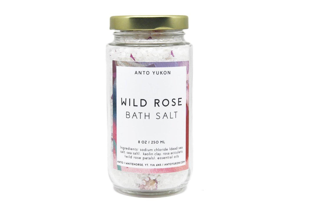 Anto Yukon Wild Rose Bath Salts