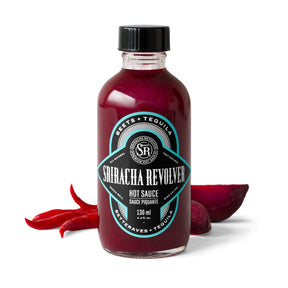 Sriracha Revolver Hot Sauce- Beet and Tequila