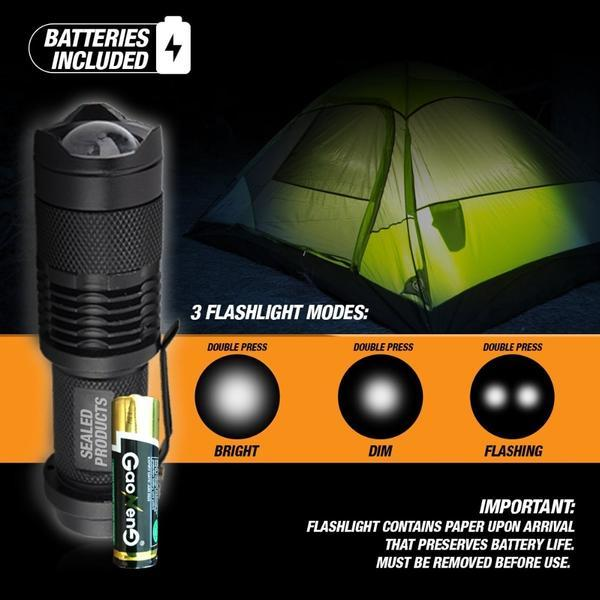 10 in 1 survival emergency camping kit