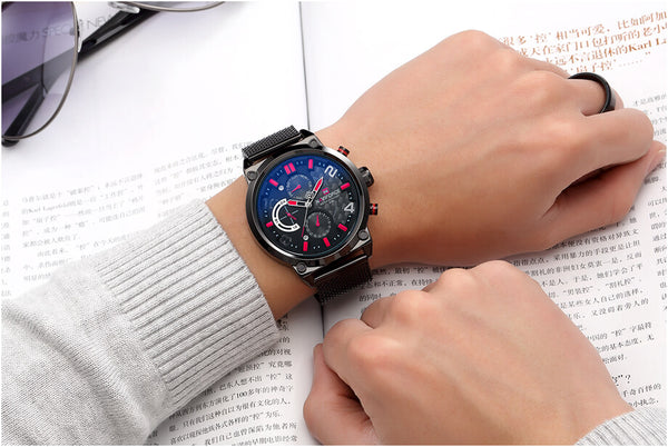 fashion watches for men tactical