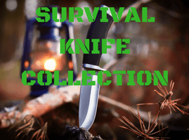 survival knife collection