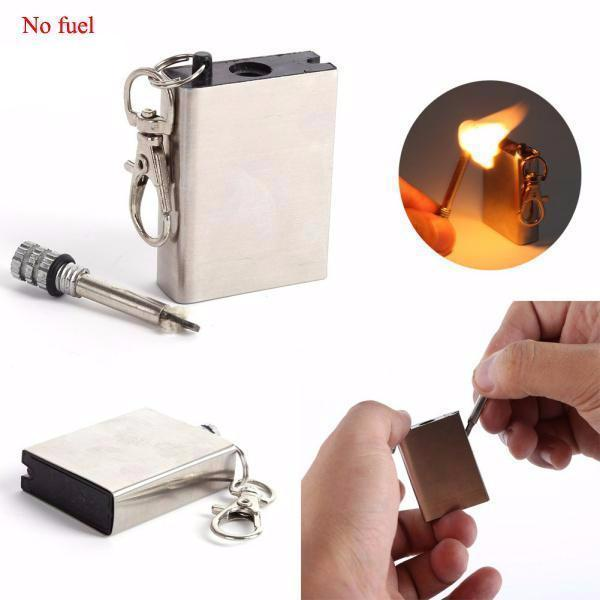 10000 Hair Emergency Fire Starter Flint Match Lighter