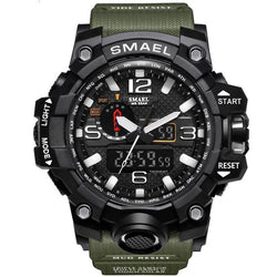 Men Sports Watches Dual Display
