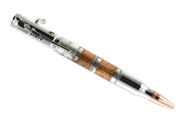 Opus Mechan Steampunk Collection Bolt Action Ballpoint Pen