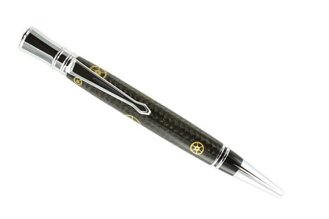 Opus Mechan Executive Collection Watch Parts Ballpoint Pen