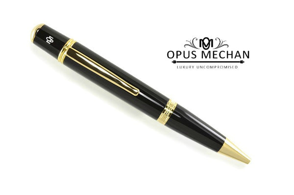 Opus Mechan Classic Collection Gold Full Size Ballpoint Pen