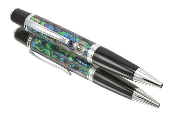 Opus Mechan La Perla Collection Chrome Ballpoint Pen