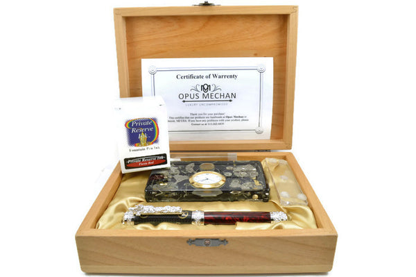 Opus Mechan 1 Of A Kind Chrono Desk Set!
