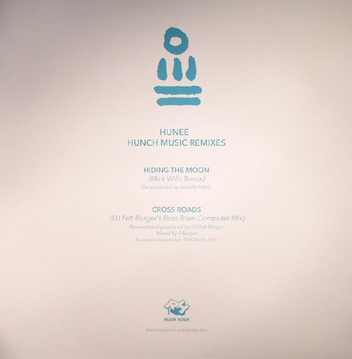 Hunee ‎– Hunch Music Remixes