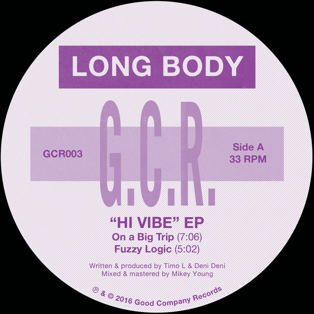 Long Body - Hi Vibe EP