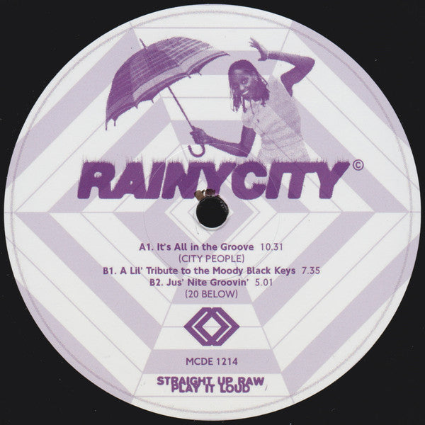 City People / 20 Below ‎– It's All In The Groove...