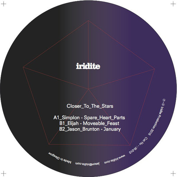 VA ‎– Closer To The Stars (Iridite)