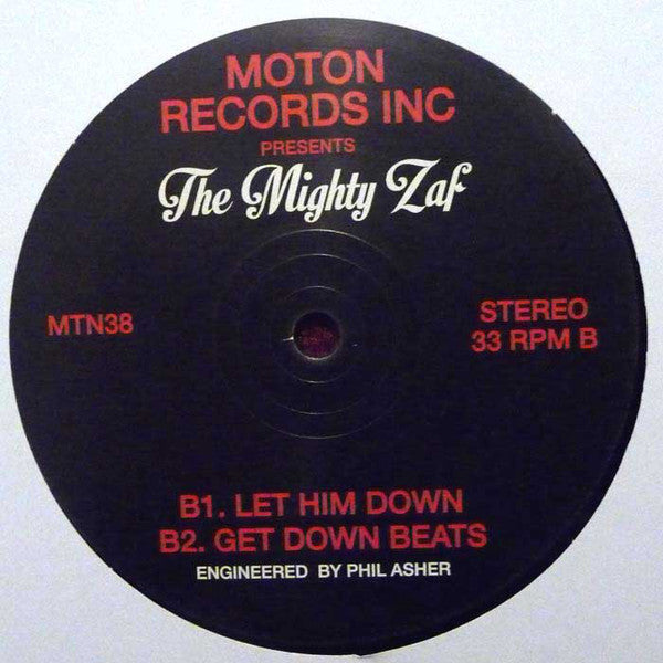 The Mighty Zaf ‎– Doin' It