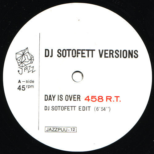 DJ Sotofett Versions - Day Is Over / Mike Koskinen
