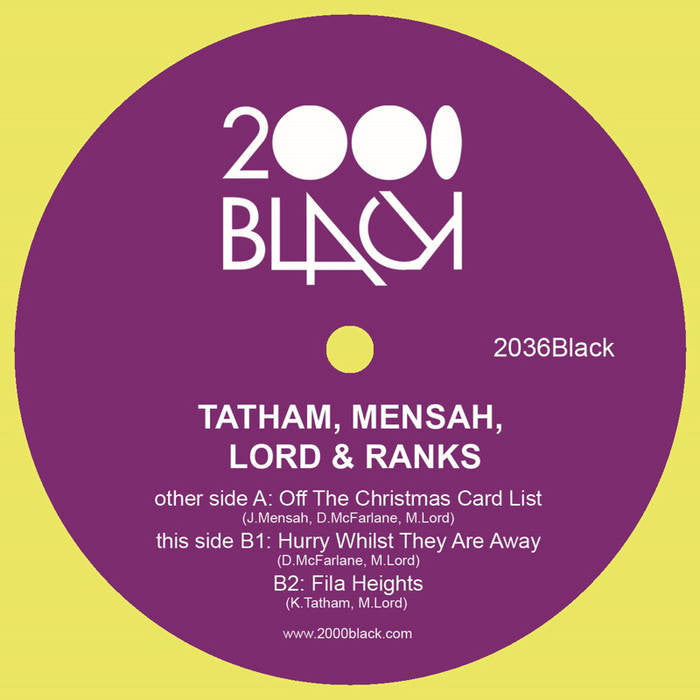 Tatham, Mensah, Lord & Ranks ‎– Off The Christmas Card List