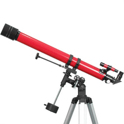 iOptron 70mm Refractor Telescope Red 6001 - STEM Telescopes